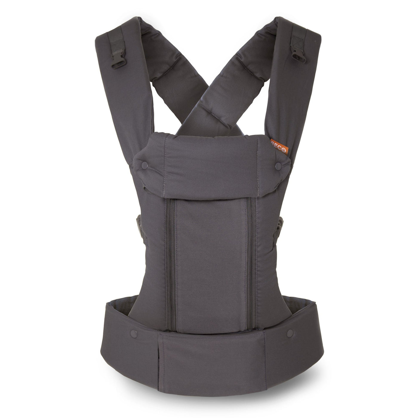 Beco Baby Carrier 8 Dark Grey - best baby carrier for dads and petite moms.