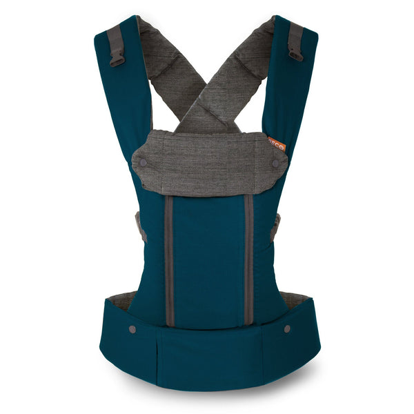 Beco Baby Carrier 8 Teal - best baby carrier for dads and petite moms.