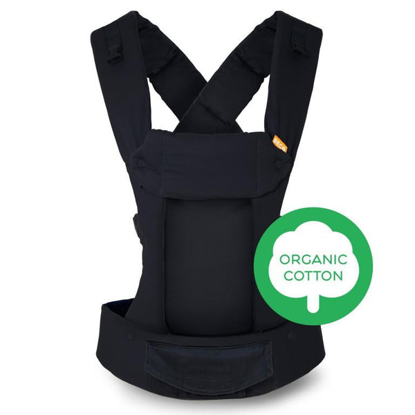 Soft Structured Beco Gemini Baby Carrier Organic Metro Black