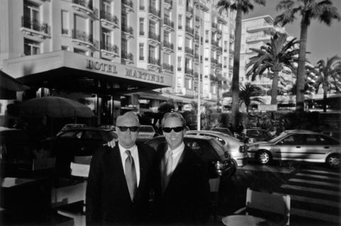 With Don Lowe in Cannes, France on Ezone business. May 1996.