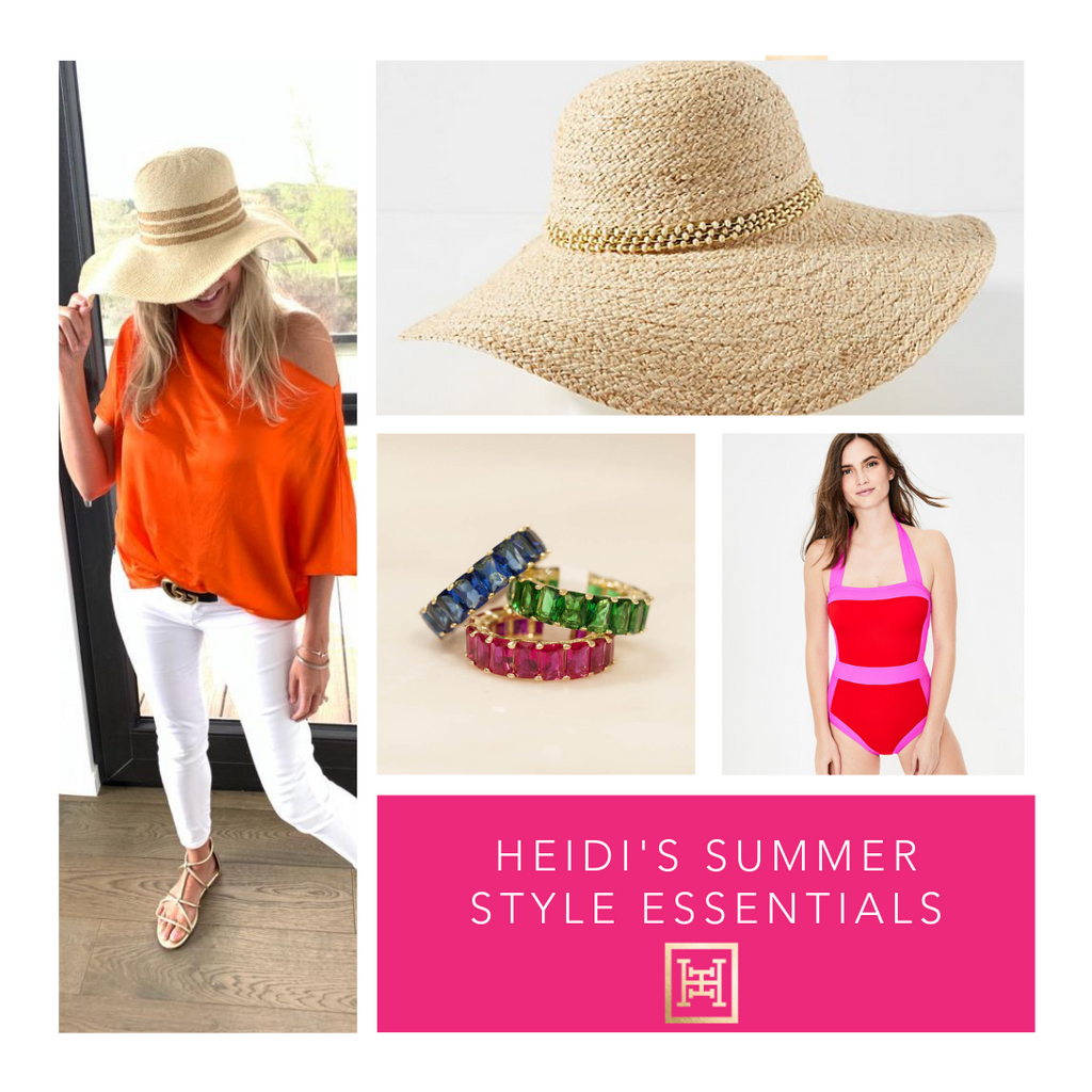 Heidi's summer style wardrobe essentials