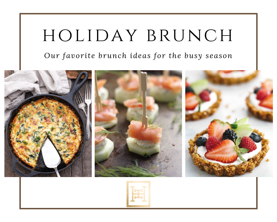 Delicious Brunch Ideas & The Perfect Hostess Dress