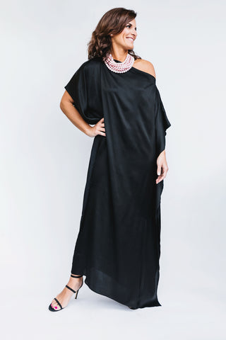long black caftan dress