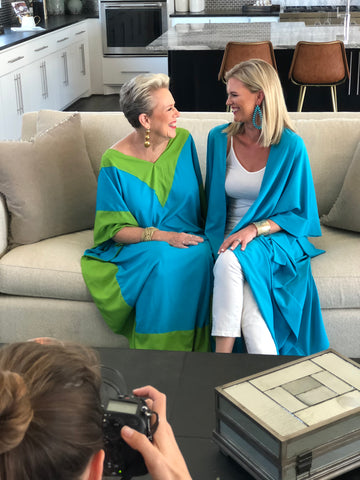 HEIDI HOUSTON caftans & robes