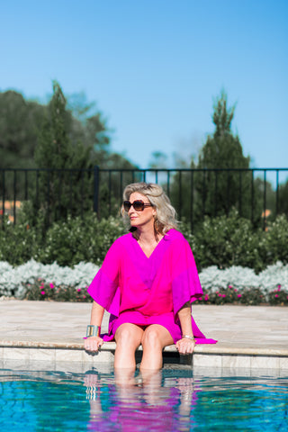 caftan, cover up, dress