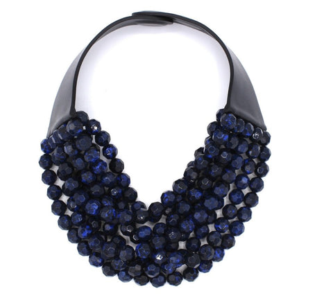 fairchild balwin navy necklace