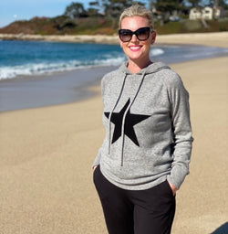 Cashmere star hooded sweater - PRE-ORDER