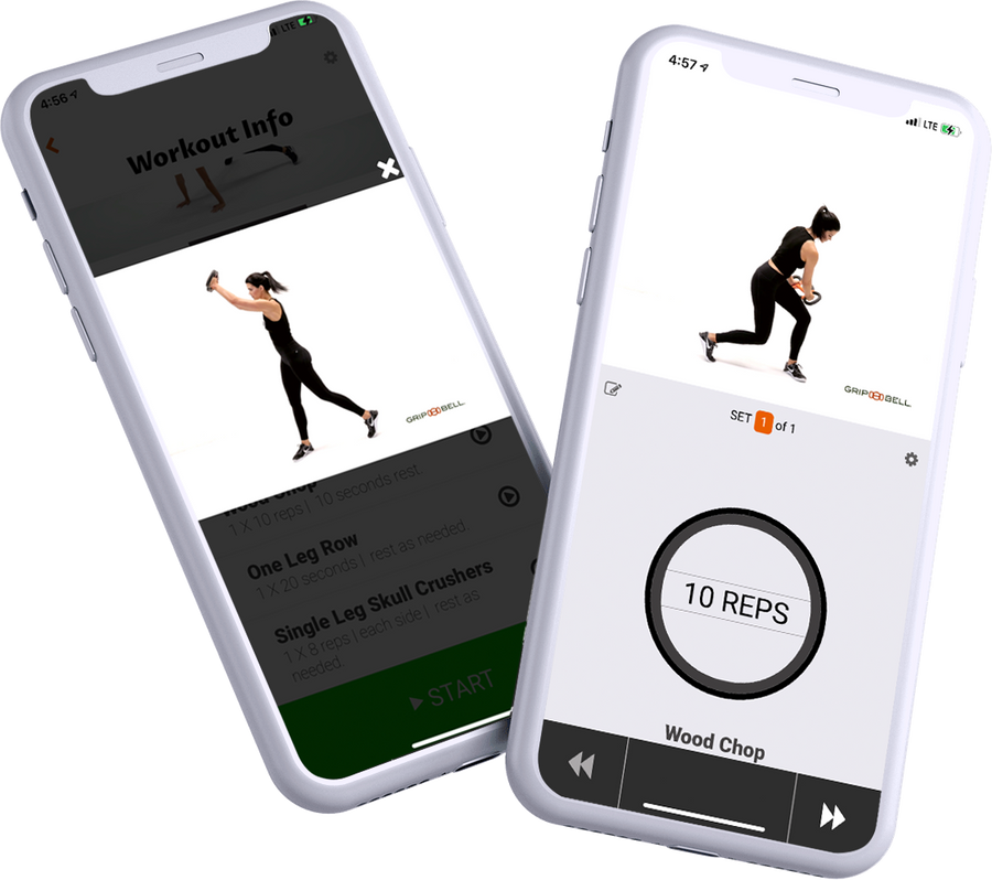 GRIPBELL Personal Trainer App