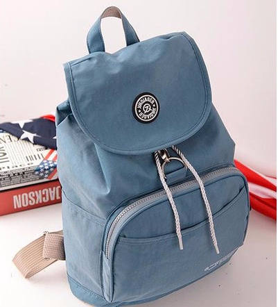 10 Colors Waterproof Nylon Backpack for Women