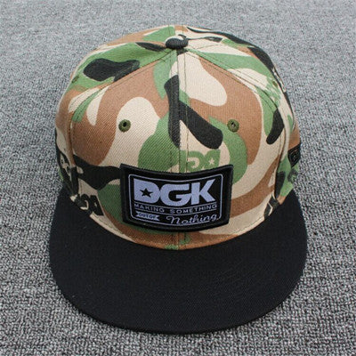 DGK All day Brand snapback baseball cap