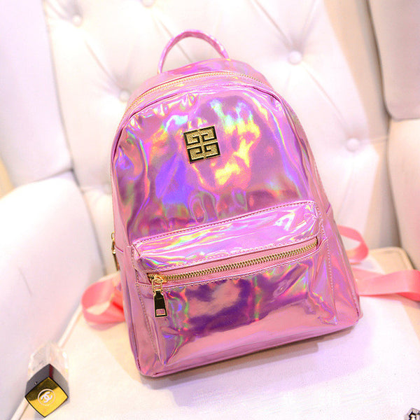 Fashion Holographic Laser Backpack for Women