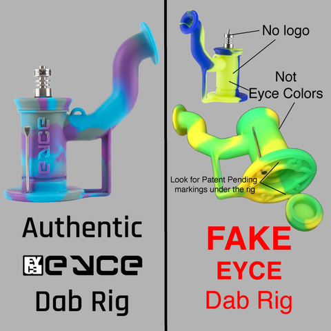 Eyce Molds, Rig, Fake, Counterfeit, Knockoff