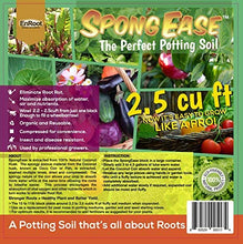 SpongEase Coconut Coir Compressed Block expands up to 18.7 Gallons (2.5 Cu Ft) - Ideal Growing Medium for potting mix - Healthy roots, Healthy plants and Bountiful Harvest