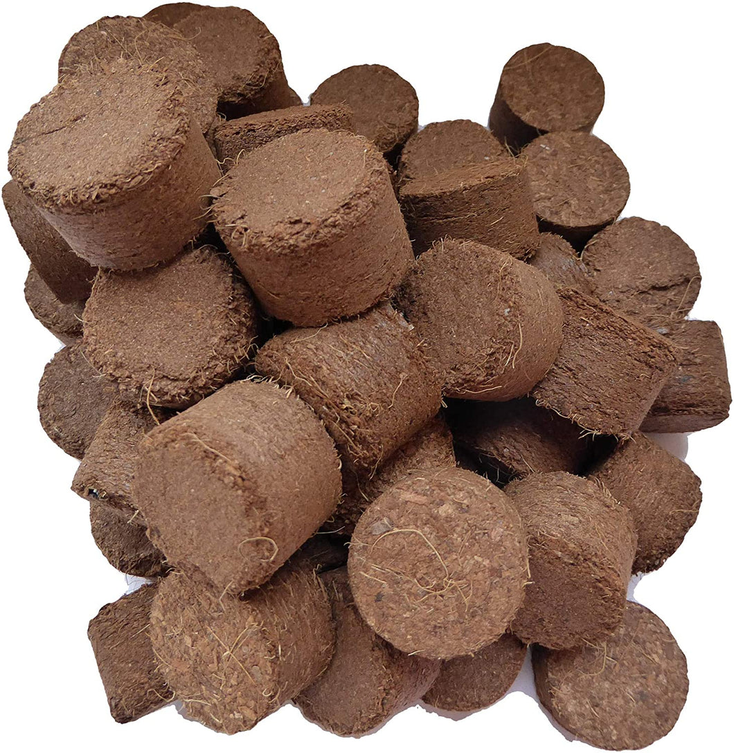 Spongease 100 Count Coir Seed Starting Pellet 3 cm