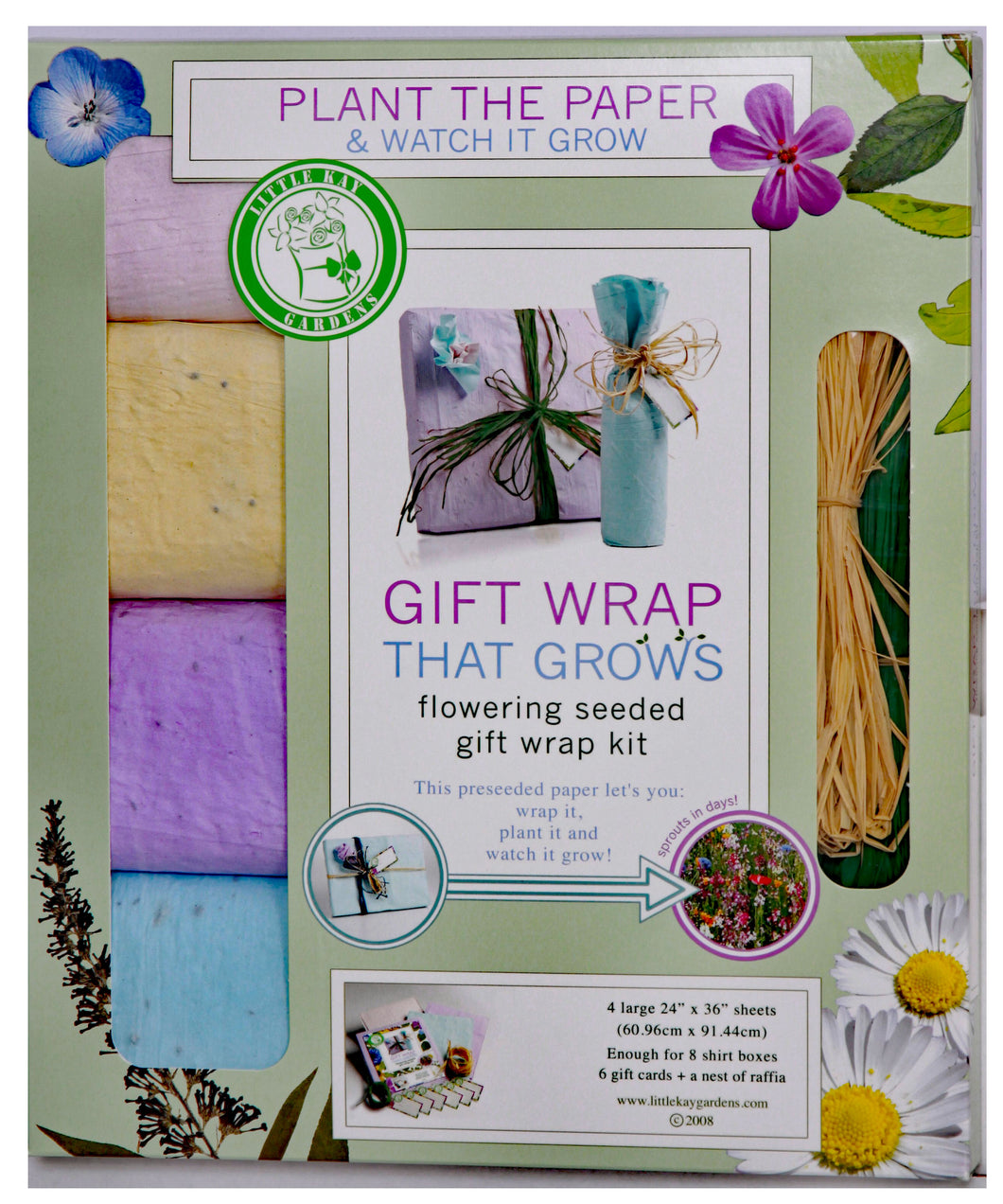 Earth-Friendly Gift Wrap Wrapping Paper