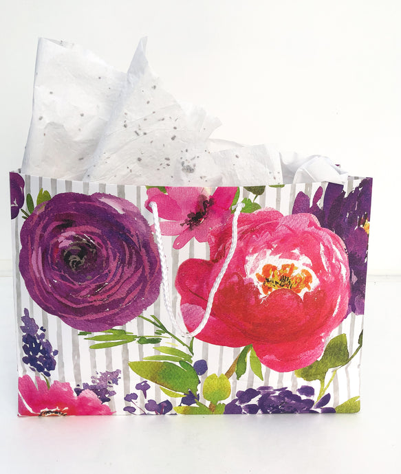 Recycled Gift Wrap Tissue Paper That Grows
