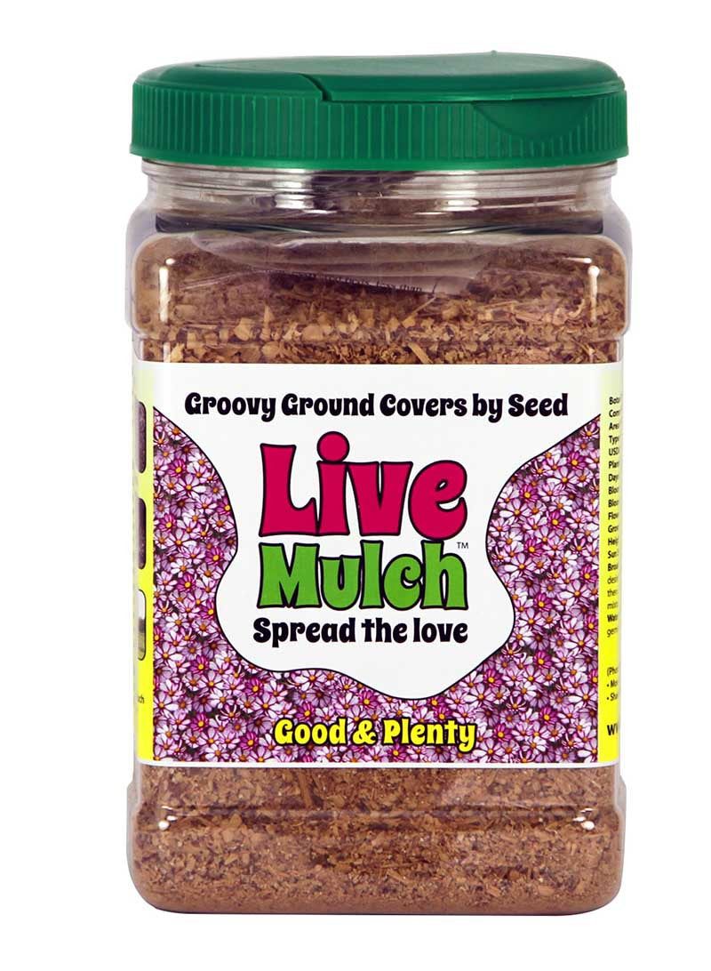 Live Mulch Good and Plenty (Cosmos)