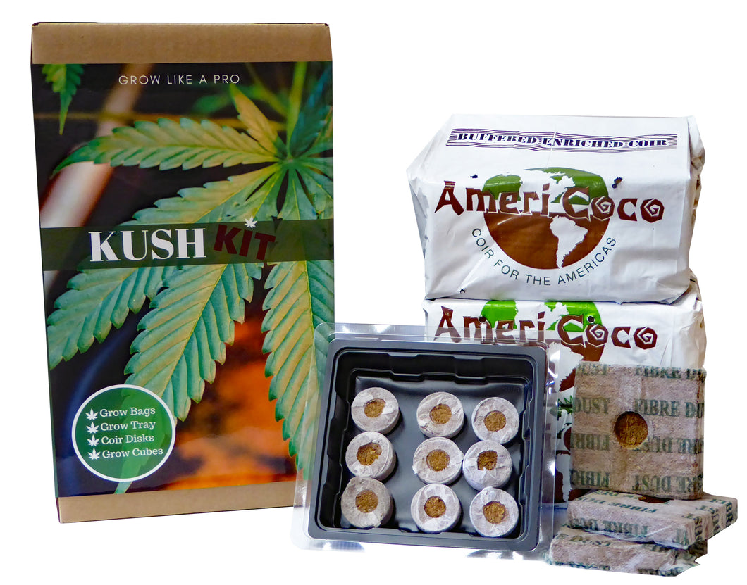 Kush Kit: Indoor Grow Kit for Hemp, Herbs and Medicinal Crops - DIY Grow Kit - Just add Your Seeds, Fertilizer and You Will be Growing Like a pro!