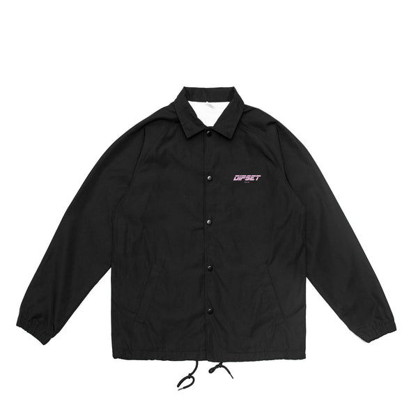 DIPSET COACHES JACKET (BLACK)