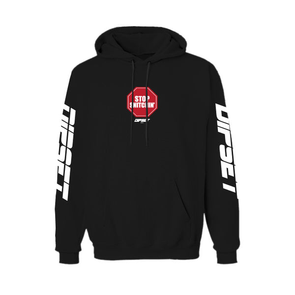 DIPSET STOP SNITCHIN HOODY (BLACK)