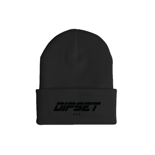 DIPSET BLACK OUT BEANIE