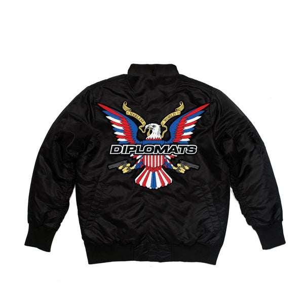 DIPSET BOMBER JACKET (BLACK)