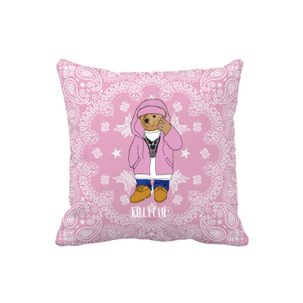 KILLA CAM BEAR PILLOW