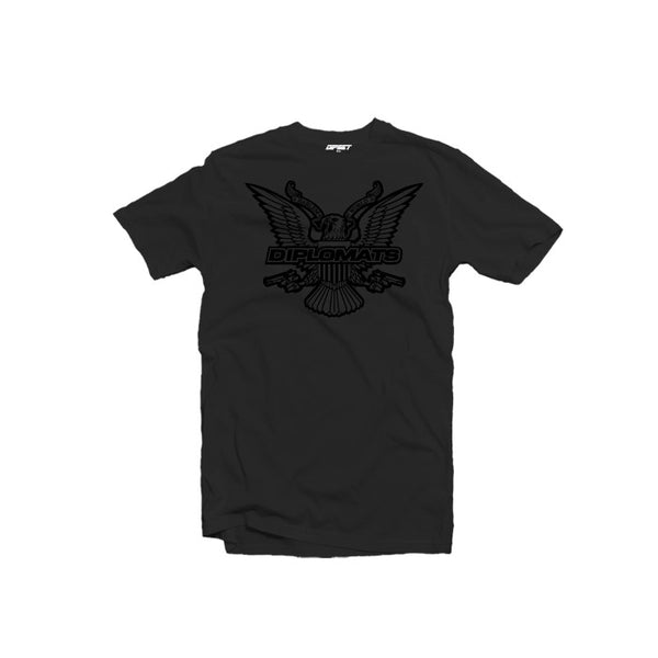 DIPSET BLACK OUT TEE (BLACK)