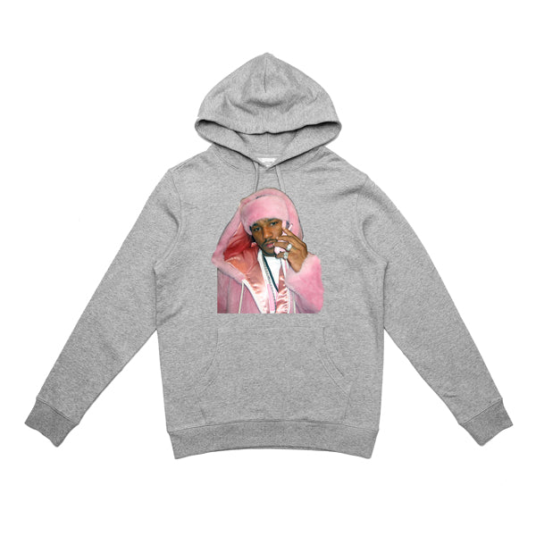 CAM'RON PINK MINK HOODY (HEATHER GREY)