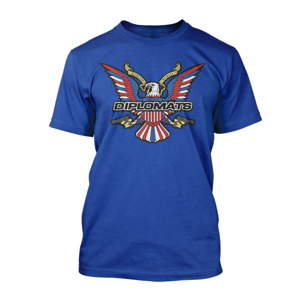 Dipset USA Eagle Logo Tee (ROYAL)