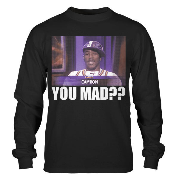 CAM'RON YOU MAD LONG SLEEVE TEE (BLACK)