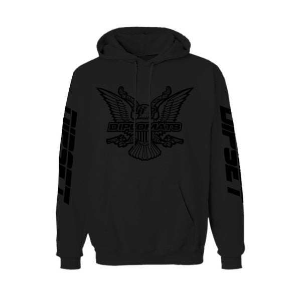 DIPSET BLACK OUT HOODY (BLACK)