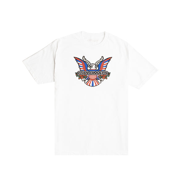 Dipset Eagle Logo Bouquet Tee (White)
