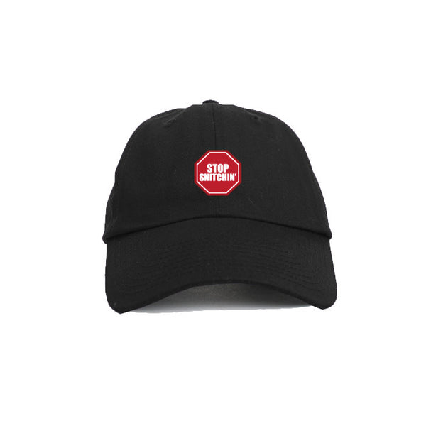 DIPSET STOP SNITCHIN DAD HAT (BLACK)