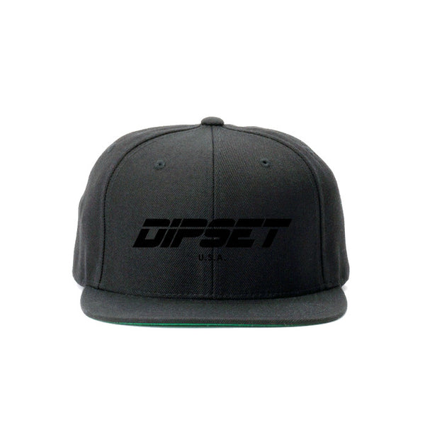 DIPSET BLACK OUT SNAPBACK