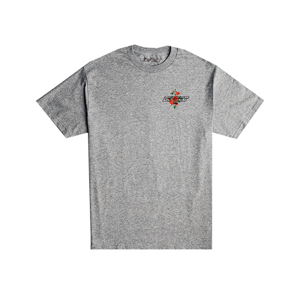 Dipset Roses Logo Tee (Heather Grey)