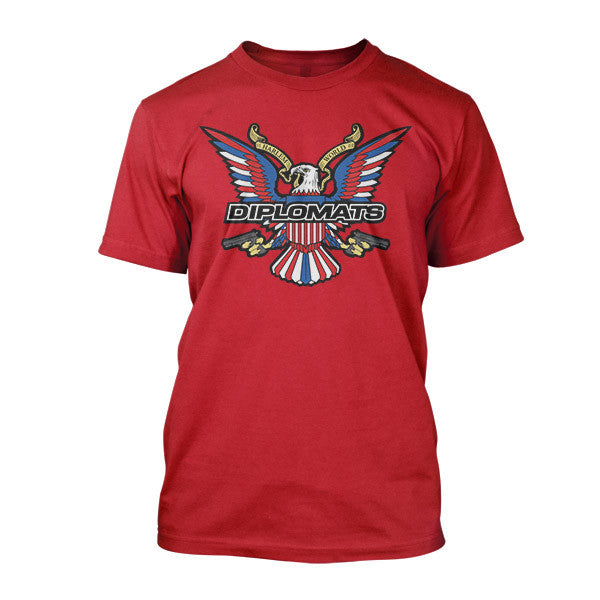 Dipset USA Eagle Logo Tee (RED)