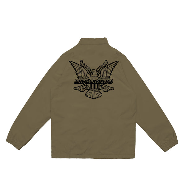 DIPSET COACHES JACKET (OLIVE)