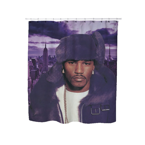 DIPSET PURPLE HAZE SHOWER CURTAIN