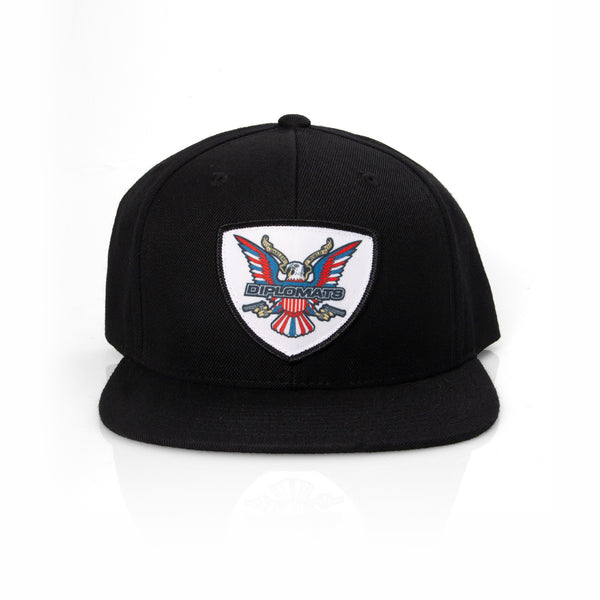 DIPSET EAGLE LOGO PATCH HAT (BLACK)