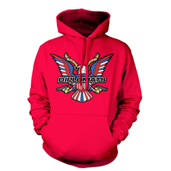 DIPSET USA EAGLE LOGO HOODY (RED)