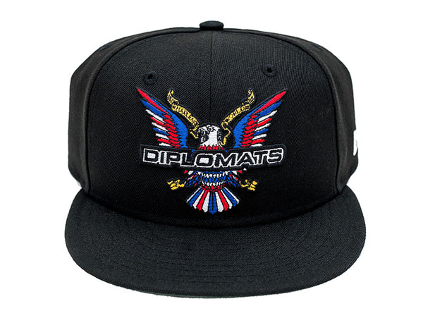 DIPSET EAGLE LOGO NEW ERA 5950 SNAPBACK HAT