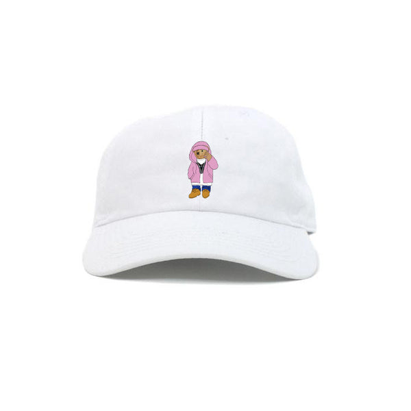KILLA CAM BEAR DAD HAT (WHITE)
