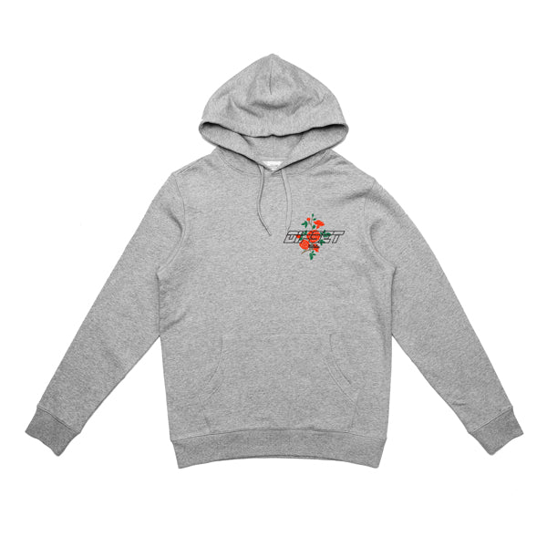 DIPSET ROSES LOGO HOODY (HEATHER GREY)