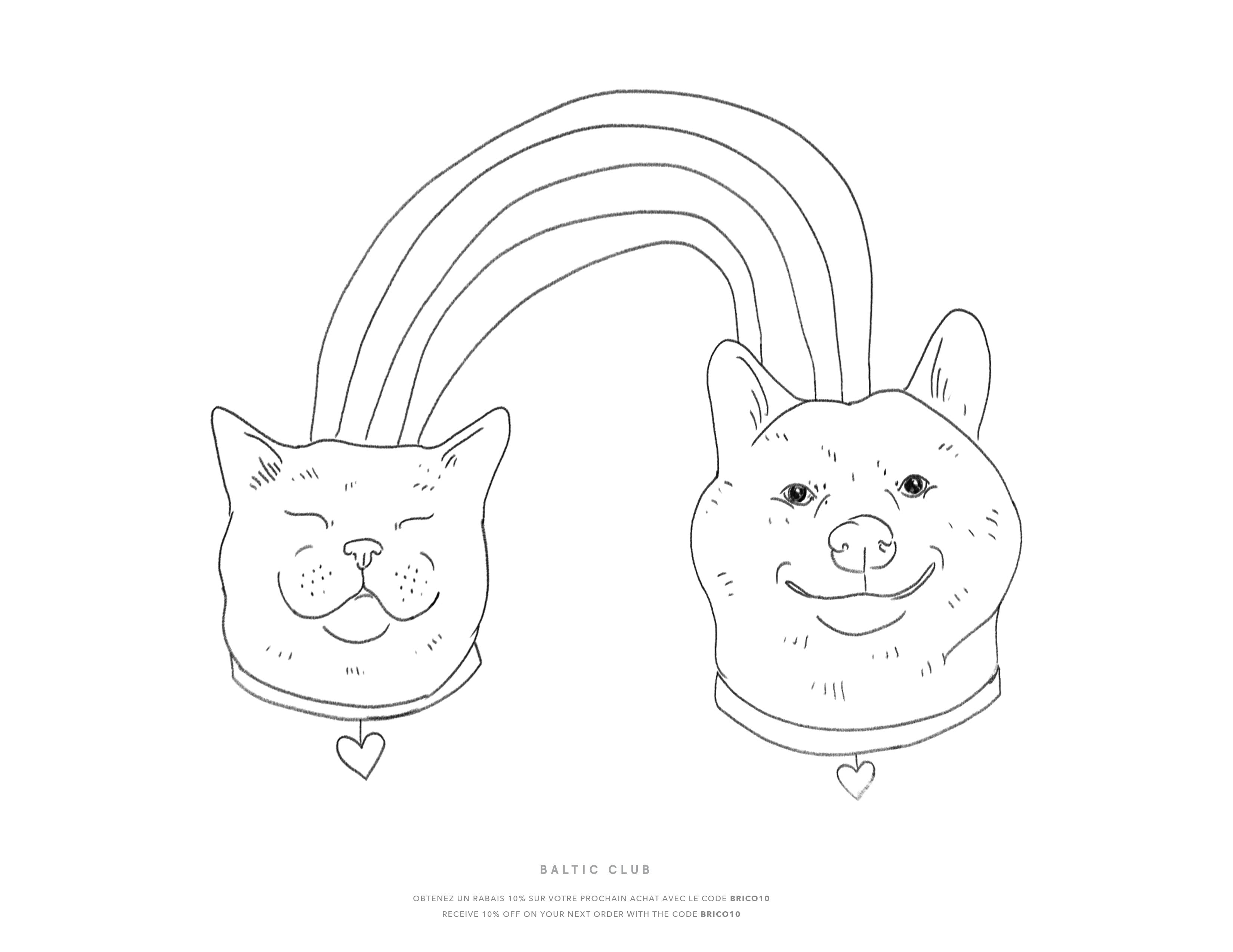 - The Rainbow Coloring Sheet