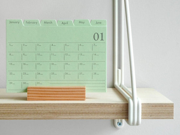 Index Card Calendar large