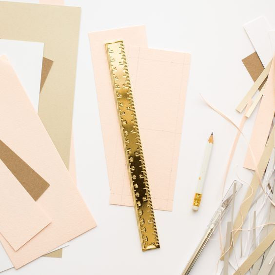 Solid Brass Ruler by SugarPaper