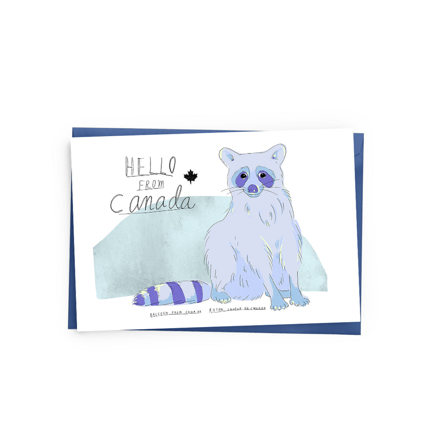 Raccoon (Canada) Card - The Baltic Club