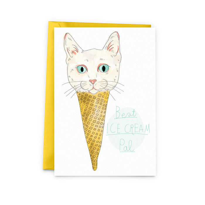 carte chat cornet de glace | Baltic Club