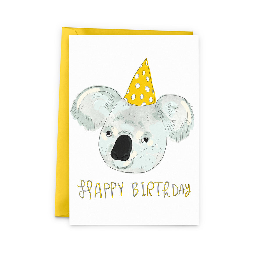 Koala Birthday Card - The Baltic Club